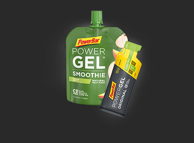 PowerBar Gels & smoothies